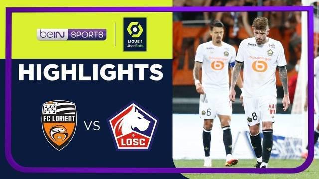 Berita video highlights Ligue 1, Lille dikalahkan oleh Lorient 1-2, Sabtu (11/9/21)
