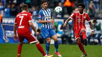Hertha Berlin Vs Bayern Munchen (AFP/Odd Andersen)
