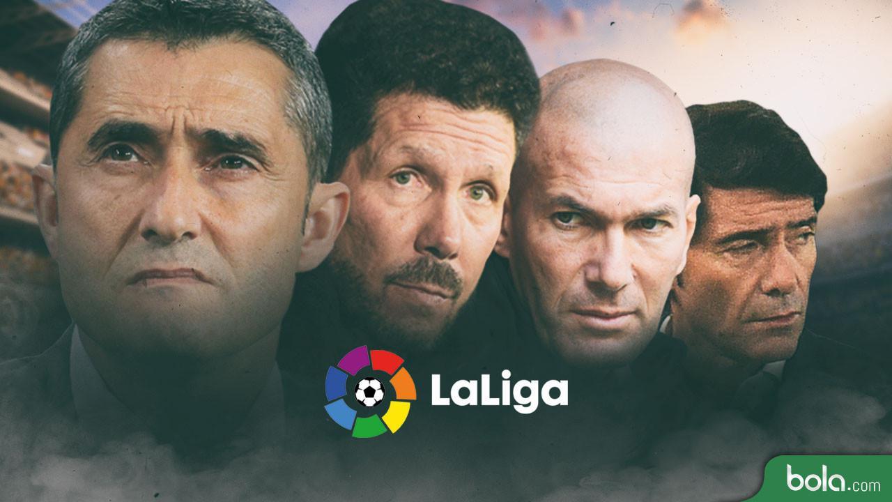 Klasemen La Liga Spanyol: Barcelona Tergusur, Real Madrid di Papan Tengah