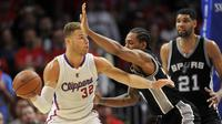 Los Angeles Clippers vs San Antonio Spurs (Gary A. Vasquez-USA TODAY Sports)