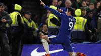 3. Alvaro Morata (Chelsea) - 7 Gol. (AFP/Adrian Dennis)