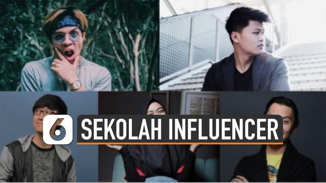 Global Influencer School, sekolah yang akan mendorong munculnya influencer.