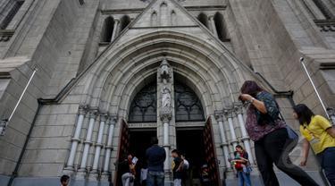 Misa Kenaikan Isa Almasih di Gereja Katedral Berlangsung Khidmat
