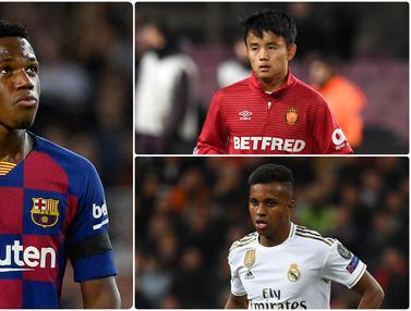 Ansu Fati dan 5 Wonderkid yang Akan Bersinar di Liga Spanyol Musim Ini