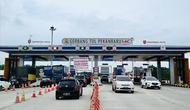 PT Hutama Karya (Persero) melaporkan adanya peningkatan trafik lalu lintas di Jalan Tol Trans Sumatera (JTTS) pada hari pertama libur Natal dan Tahun Baru (Nataru) 2020/2021. (Foto: Hutama Karya)