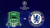 Liga Champions - Krasnodar Vs Chelsea (Bola.com/Adreanus Titus)