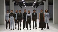 Koleksi rancanngan Wilsen Willim di show de.co.rum Senayan City dalam rangkaian Jakarta Fashion Week (JFW) 2021. (dok. tangkapan layar/JFW.TV)