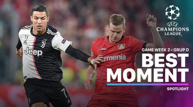 Berita video momen-momen terbaik yang tercipta pada matchday 2 di Grup D Liga Champions 2019-2020.