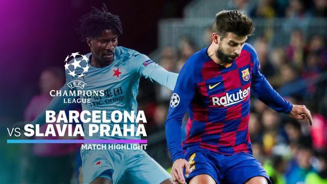 Berita video highlights Grup F Liga Champions 2019-2020 antara Barcelona melawan Slavia Praha yang berakhir dengan skor 0-0, Selasa (5/11/2019).