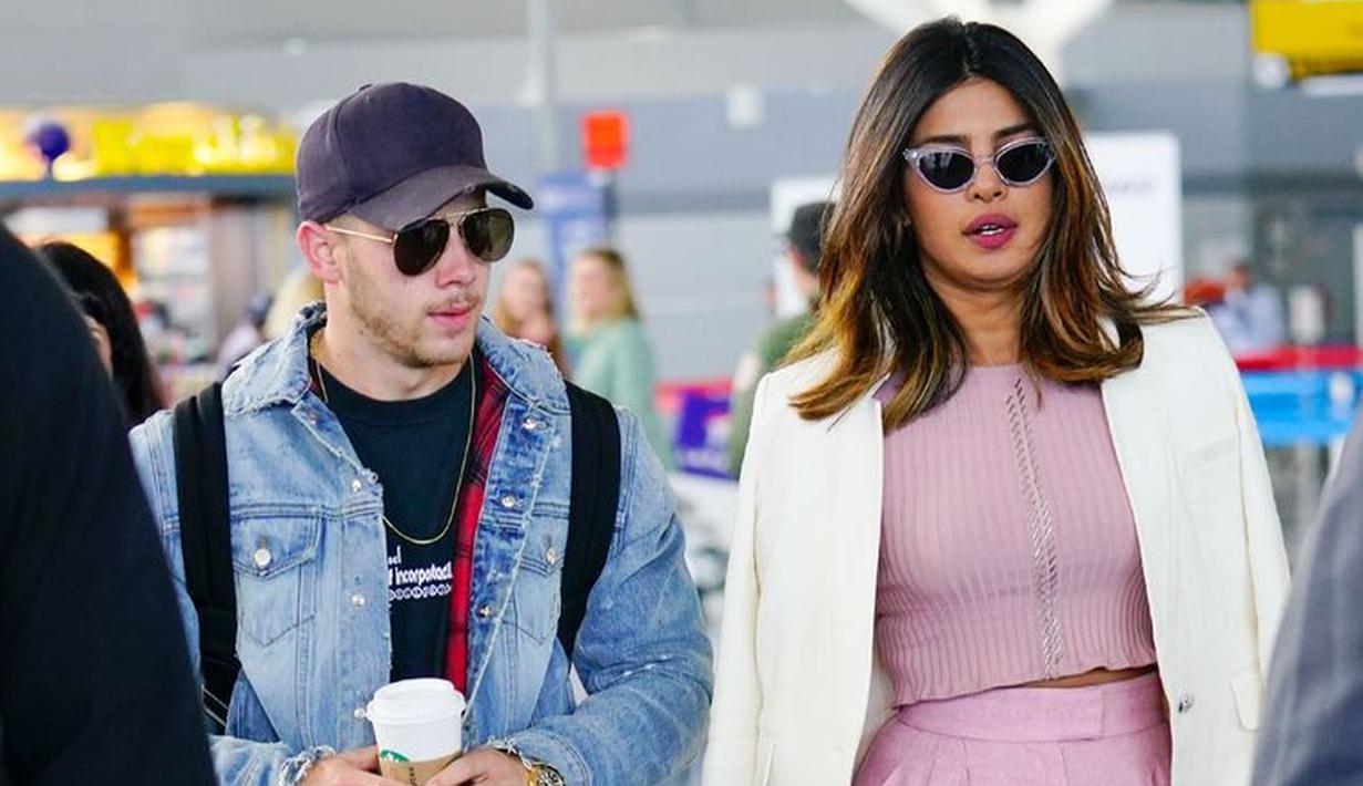 Nick Jonas dan Priyanka Chopra sepertinya menjalani hubungan yang semakin serius. (Getty Images - Cosmopolitan)