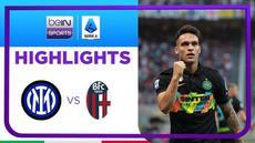 Berita video highlights kemenangan Inter Milan atas Bologna dengan skor 6-1 pada pekan ke-4 Liga Italia (Serie A) 2021/2022, Sabtu (18/9/2021) malam hari WIB.
