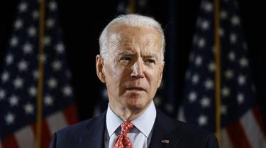 Joe Biden, calon presiden AS penantang Donald Trump pada pemilu November 2020 mendatang.
