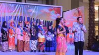 Wujud kepeduliaan terhadap masa depan anak, Pemkot Tangerang gelar Malam Penganugrahan Duta Anak Kota Tangerang tahun 2019, yang dilaksanakan di Main Atrium Tangcity Mall, Sabtu (20/04/19) malam.