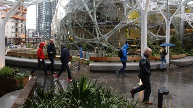 The Spheres, Kantor Baru Amazon