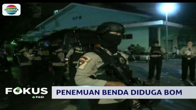 Setelah dua jam melakukan pemeriksaan, polisi memastikan benda tersebut tidak berbahaya dan langsung diamankan ke Markas Brimob