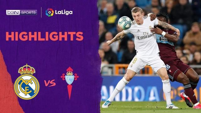 Beriita Video Highlights La Liga, Real Madrid Vs Celta Vigo 2-2