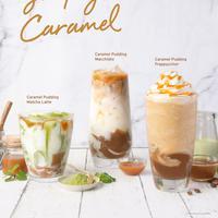 Starbucks menghadirkan tiga minuman varian terbarunya dengan basis karamel yang nikmat.
