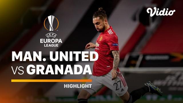 Berita video highlights leg II perempat final Liga Europa 2020/2021 antara Manchester United melawan Granada yang berakhir dengan skor 2-0, Jumat (16/4/2021) dinihari WIB.