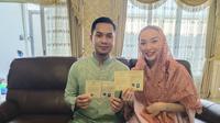 Potret Zaskia Gotik dan Sirajuddin Mahmud resmi menikah. (Sumber: Instagram/zaskia_gotix)