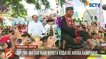 Dalam kampanye ini Jokowi juga mengingatkan agar memilih pemimpin yang berpengalaman dan memiliki rekam jejak yang baik.