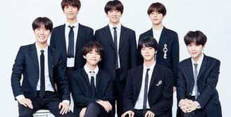 Pada 2017, BTS sempat terpilih sebagai salah satu tokoh berpengaruh di internet versi majalah TIME. Dan kini, grup asuhan Big Hit Entertainment ini kembali masuk daftar tersebut. (Foto: soompi.com)