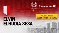 Paralimpiade Tokyo 2020, Elvin Elhudia Sesa