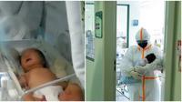 Bayi perempuan di Wuhan berusia 17 tahun sembuh dari virus Corona. (Sumber: World of Buzz)