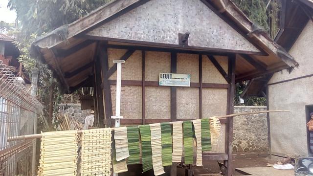 Lumbung padi situs Ciburuy, Garut