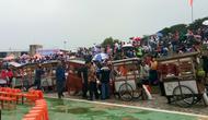 Gebyar Bakso Merah Putih di Cikarang, Bekasi. (Merdeka.com)