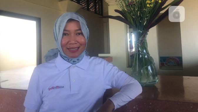 Direktur Consumer Service IndiHome, Siti Choiriana. (Liputan6.com/ Ditto Radityo)