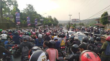 Macet Parah Jalur Puncak Bogor