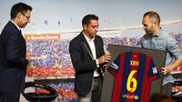 Andres Iniesta Tertarik Berduet dengan Xavi Melatih Barcelona