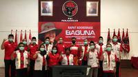 Rapat koordinasi Baguna PDIP se-Jawa Timur (Foto: Liputan6.com/Dian Kurniawan)