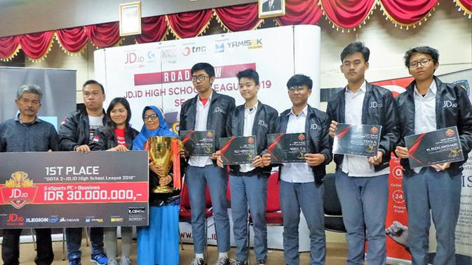 SMA Negeri 7 Bandung Siap Pertahankan Gelar Tim Esports SMU Terbaik. (Doc: HSL)