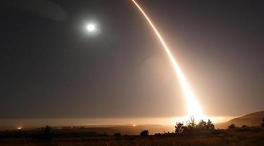 Uji coba rudal AS, Minuteman III (AP)