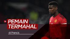 Berita video para pemain termahal Prancis saat ini, salah satunya Paul Pogba.