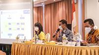 Menparekraf Sandiaga Uno saat rapat koordinasi tentang kesiapan Lagoi dan Nongsa di Kepri untuk wisman (Dok.Instagram/@sandiuno/https://www.instagram.com/p/CMoPAGdhf0j/Komarudin)