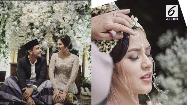 Raisa dan Hamish Daud melangsungkan pernikahan Minggu (3/9/2017).
