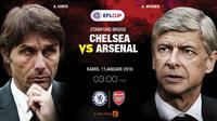 Prediksi Chelsea Vs Arsenal (Liputan6.com/Trie yas)