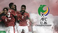 Piala AFC U-16 2018. (Bola.com/Dody Iryawan)