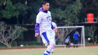 Esteban Vizcarra, gelandang Persib. (Bola.com/Erwin Snaz)