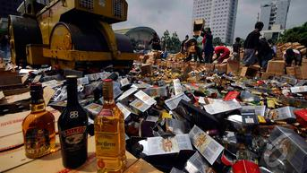 Implementasi RUU Larangan Minuman Beralkohol Pangkas Penerimaan Cukai?