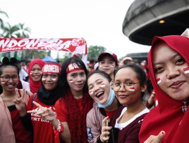 Suporter Indonesia Berdatangan ke Shah Alam