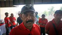Wali Kota Solo, FX Hadi Rudyatmo usai meresmikan Pasar Sidodai, Solo, Jumat (7/2).(Liputan6.com/Fajar Abrori)