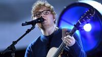 Ed Sheeran Jakarta (AFP)