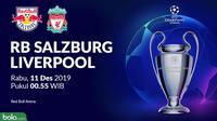 Liga Champions - RB Salzburg Vs Liverpool (Bola.com/Adreanus Titus)