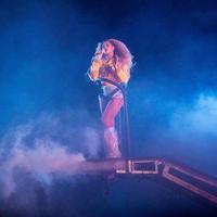 Beyonce guncang panggung Coachella. (AFP)