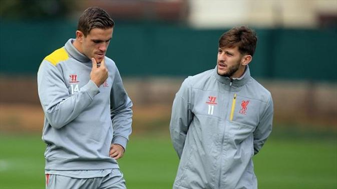 Liverpool masih harus tampil tanpa diperkuat Jordan Henderson dan Adam Lallana yang masih berkutat dengan cedera. (Eurosport)