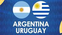 Copa America - Argentina Vs Uruguay (Bola.com/Adreanus Titus)