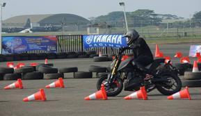 Yamaha Indonesia turut berpartisipasi dalam perayaan HUT ke-70 TNI AU di Lanud) Halim Perdanakusuma, Jakarta Timur